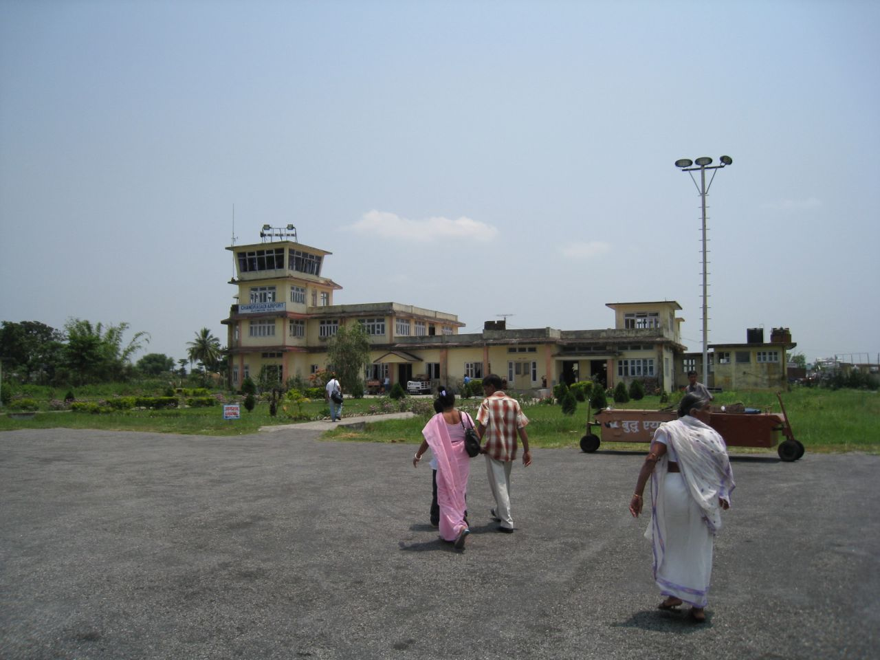 Tiny Bhadrapur Airport in eastern Nepal is a gateway to India