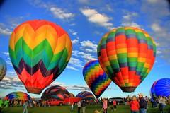 Balloon Garden (StuffEyeSee) Tags: colors canon spring balloon may 2008 hotairballoons hdr balloonfestival 2exp flickrcolour karmapotd karmapotw eos40d brillianteyejewel eriecolorado vistaridgegolfcourse