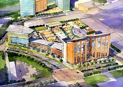 a proposal for one of the key parcels at Tysons (credit: TysonsFuture.com)