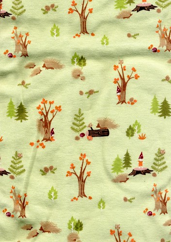 Gymboree Fabric - Gnomes