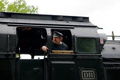 train driver (fry2k) Tags: classic train eisenbahn ev tradition steamengine traindriver dampflok teutoburgerwald twe teuto teutoexpress brochterbeck eisenbahntradition