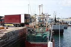 fishing boat loading gillnets (ccopithorne) Tags: boat fishing diving joe holly east beamer wreck waterford trawler charter rebreather dredger dunmore