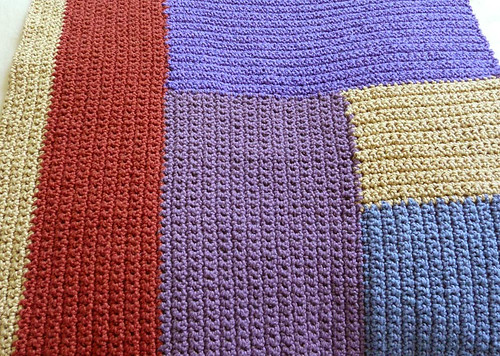 Moderne Blanket - in progress