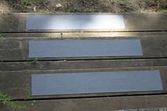 Non-slip steps