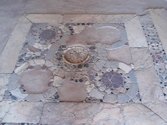 Flooring in Hagia Sophia church (steven_and_haley_bach) Tags: byzantine mystras sixthday mistras greecevacation byzantineruins