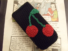 Cherry Phone Cozy