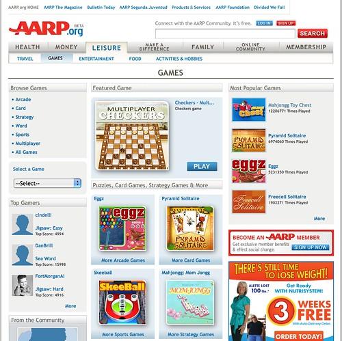 Grandma Got Game Aarp Launches Casual Portal For Seniors