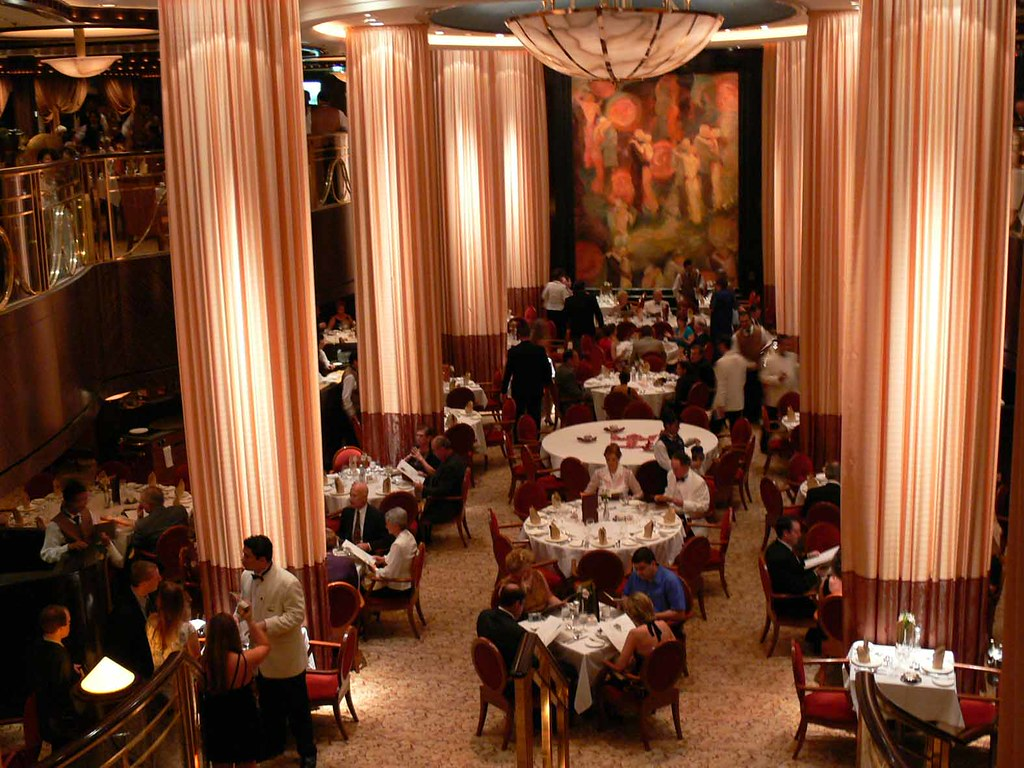 DINING ROOM, Serenade of the Seas, Royal Caribbean Cruise Lines