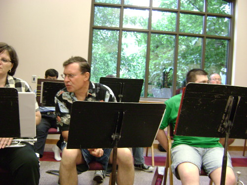June 2008 Manchester Civic Band Practice