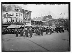 Woman band - Suffrage parade  (LOC)