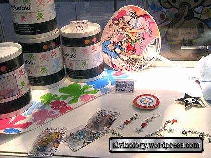 tokidoki merchandises