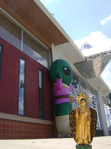 Buddha in downtown Roswell