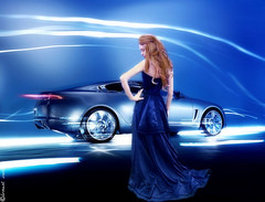 Royal Blue (Stylistic Me) Tags: blue woman car jaguar gown royalblue supershot mywinners platinumphoto theunforgettablepictures goldstaraward damniwishidtakenthat grouptripod