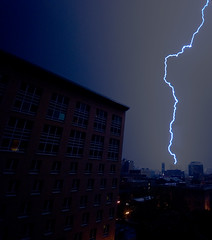 Lloyd Center area 1 (Orbmiser) Tags: oregon portland nikon explore lightning thunderstorms sigma1020mm rosequarter sigma1020mmf456exdchsm d80