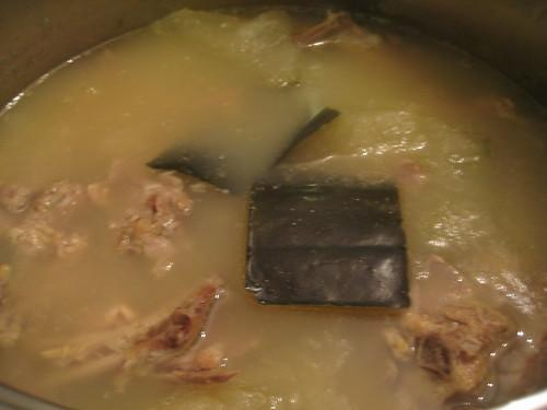 冬瓜煲鴨湯