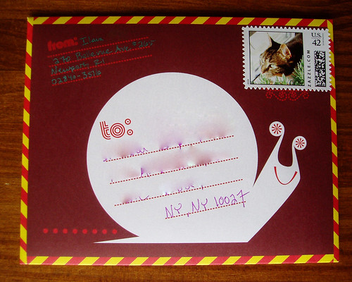 "Outgoing ""snail mail,"" July 6"