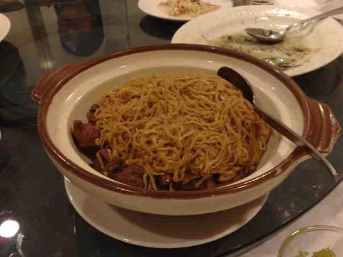 goose feet noodles
