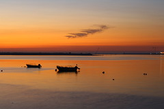 Baa de S. Paio Esturio do Rio Douro (franois26) Tags: light sunset luz sol portugal flickr porto oporto platinumphoto franciscobernardo ilustrarportugal serieouro cizos guasdivinas