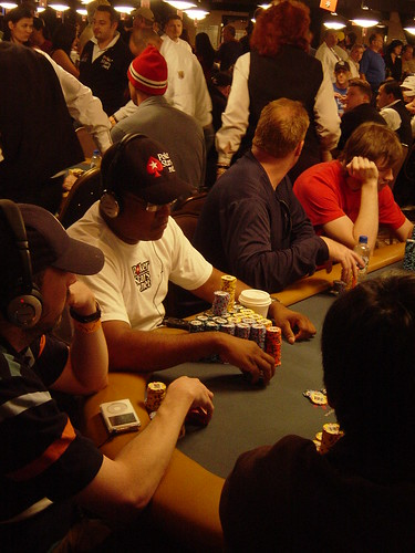 WSOP July 10 2008 Day 3 037