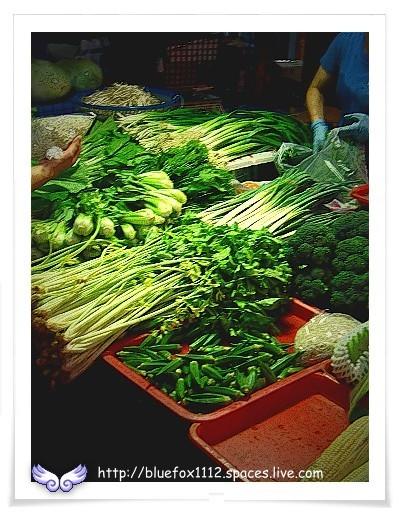 080713黃昏市場02_菜攤