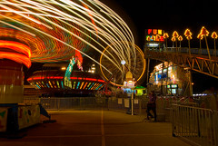 Light Painting (Noel Kerns) Tags: carnival night texas plano