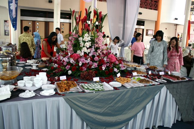 The desserts station was the centrepiece