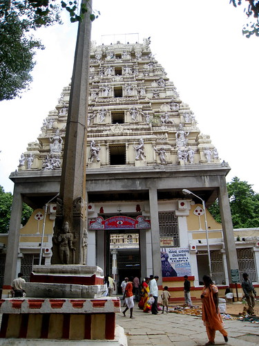 Bull Temple in Bangalore por Cedric SF.