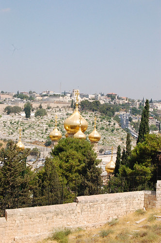 Mt. Olives,   יְרוּשָׁלַיִם Jerusalem 耶路撒冷
