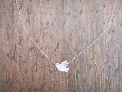 Dove Necklace (bbel-uk) Tags: bird silver necklace peace dove jewellery jewelery bbel