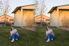 3D Jessica at the Park (jessicagreen0202) Tags: stereoscopic stereophotography 3d stereo parallel threedimensional loreo stereoimage parallelview