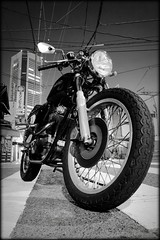 1974 Norton commando 850 (Noisy Paradise) Tags: longexposure monochrome japan blackwhite sigma dp motorcycle  foveon   dp1  supershot sigmadp1 noisyparadise