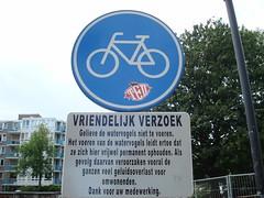 Placa na Holanda