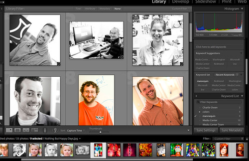Lightroom 2.0 Recommends Keywords