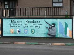 Mural in Derry (Blaz Purnat) Tags: mural murals northernireland ira derry peinturemurale irishrepublicanarmy severnairska irelandedunord