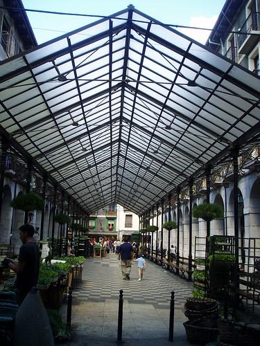 Mercado en Tolosa