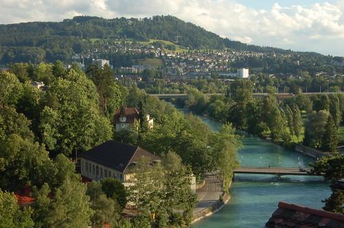 キルヒェンフェルト橋からの眺め