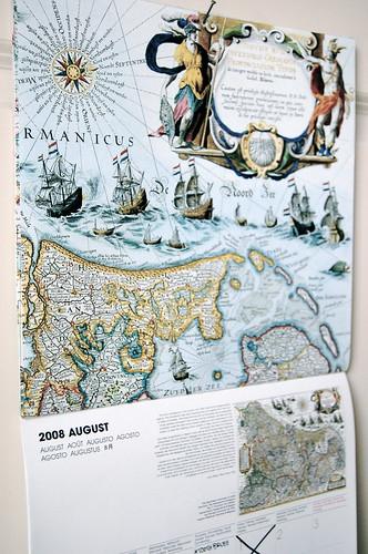 Taschen maps calendar