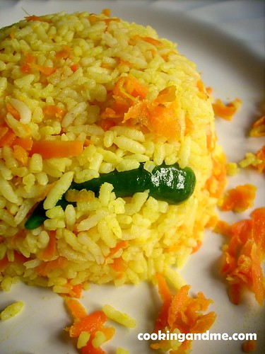 Carrot Rice Recipe - How to Make Carrot Rice