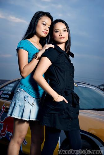 Norlina Johor and Baizura Ruslan