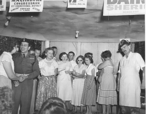 Dad K in Filaret Performance of Polish Play c 1949
