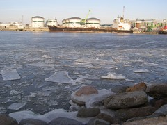 P1010310 (Eduardo Garcs) Tags: cold ice lago nieve baltic freeze klaipeda helado hielo lithuania vilnius lithuanian bajocero vilna memel nerija lituania curonianspit neringa bltico sottozero kajpeda memelburg