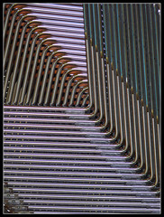 tubes (fourcotts) Tags: lines cathedral legs chairs steel curves tubes chrome salisbury salisburycathedral stacked fourcotts