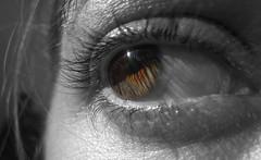 ... (RoOoOo!!!) Tags: bw eye byn me look cutout ojo yo mirada desaturadoselectivo