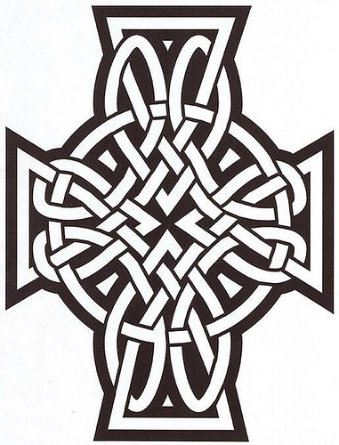 celtic cross matching brotherhood tattoos by pat fish. Women Cross Tattoos