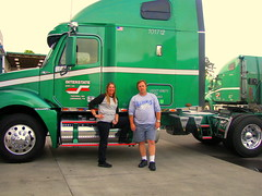 After a good bath (Jenni Reynolds-Kebler) Tags: truck work transportation 100views 200views rigs truckers overtheroad bigrigs semitrailers
