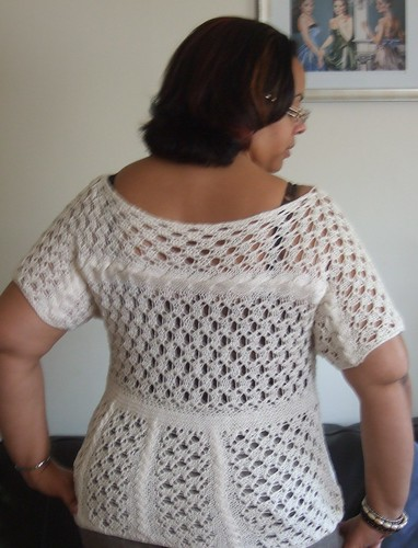 Lace and Cable Top