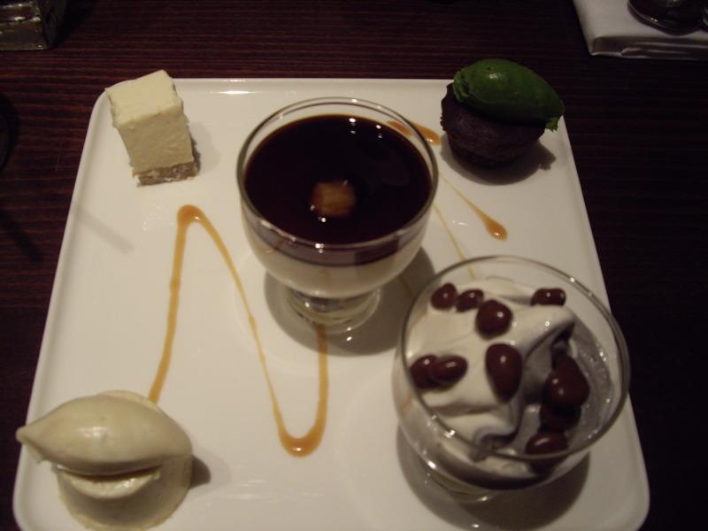 5 Course Dessert Tasting @ Kyotofu