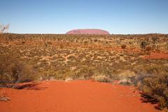 Uluru, First Sighting