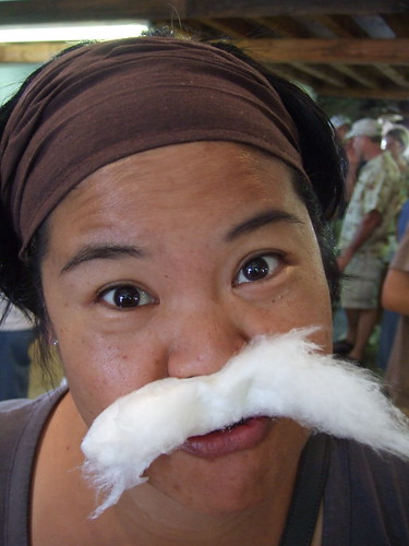 Maple Cotton Candy Moustache