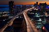Urban Toronto (tomms) Tags: street sunset urban toronto ontario canada night downtown glow gardinerexpressway interestingness481 i500 blursurfing